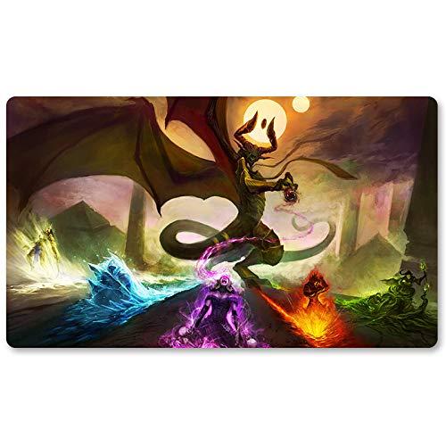 Nicol-Bolas - Tappetino da tavolo MTG per giochi da tavolo, misura 60 x 35 cm, per TCG Magic The Gathering