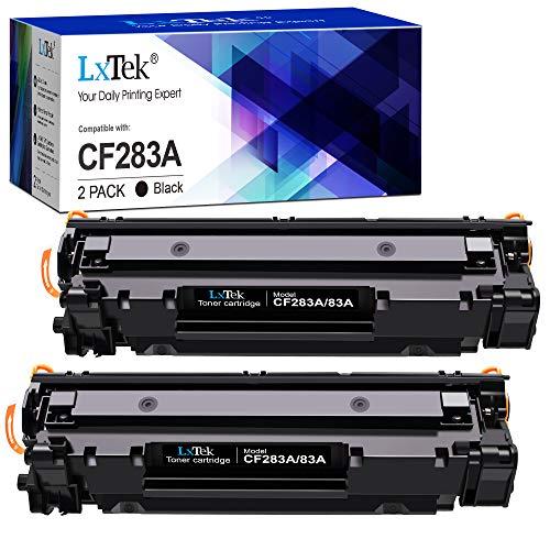 LxTek Compatibili Cartucce di Toner Sostituzione per HP 83A CF283A per LaserJet Pro M201dw M201n MFP M225dn M225dw M125a M125rnw M125nw M127fn M127fp M127fs M127fw (Nero, 2-Pack)