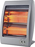 Garza Vulcano - Calefactor Infrarrojos de Cuarzo con rejilla de Seguridad , potencia 800W