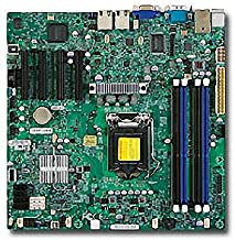 Supermicro X9SCM-F Server Motherboard - Intel C204 Chipset - Socket H2 LGA-1155
