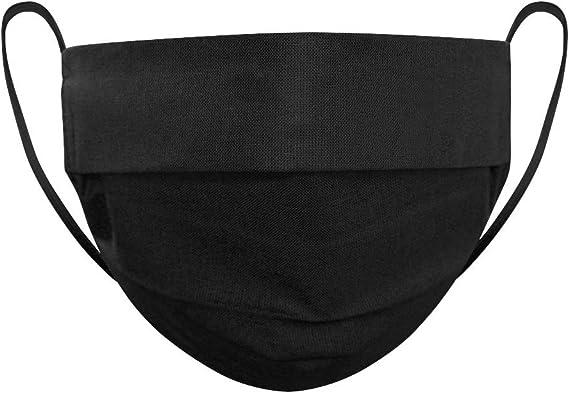 Strongant Mund Nasenmaske Für Frauen Mundbedeckung 100 Bw 2 Lagen Wiederverwendbar Waschbar Größe 17cm 7cm Made In Eu 5er Pack Grün Auto