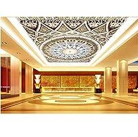 写真の壁紙3D立体空間カスタム大規模な壁紙の壁紙 レトロな質感の壁の装飾リビングルームの寝室の壁紙の壁の壁画の壁紙テレビのソファの背景家の装飾壁画-140X100cm(55 x 39インチ)