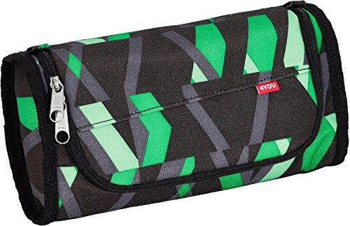 4YOU New Originals Legend de coloures caja/estuche, color Azul - Chequer Green, tamaño talla única