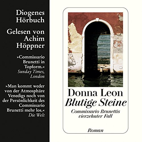 Blutige Steine. Commissario Brunettis vierzehnter Fall Audiobook By Donna Leon cover art