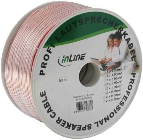 Inline Speaker Cable New item m 50 67% OFF of fixed price