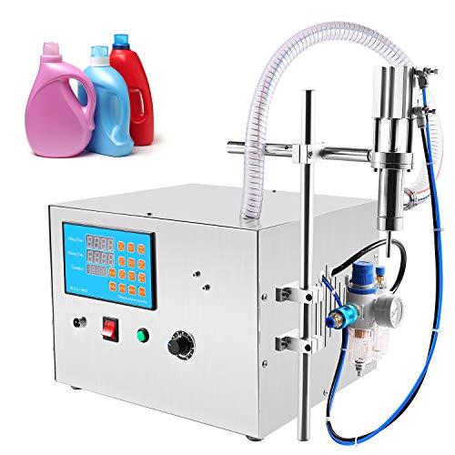 Hanchen Máquina de Llenado de Líquidos Viscosos 30L/min Llenadora de Botellas Neumática Llenadora de Líquidos Industrial para Aceite Miel Gel Champú