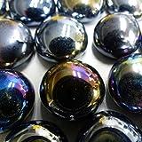 MosaixPro 18–20mm 100g 20Glas Nuggets, schillernd, Schwarz