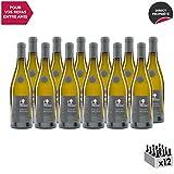 Vin de Savoie Chignin Bergeron'Fabien Trosset' Blanc 2018 - Maison Perret - Vin AOC Blanc de Savoie - Bugey - Cépage Roussanne - Lot de 12x75cl