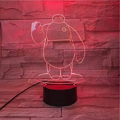 Nachtlampje, anime, groot nachtlampje, wit, 7 kleuren, licht voor kinderen/magische lantaarn/cadeaulicht voor nieuwjaar/slaaplicht/sfeerlicht.