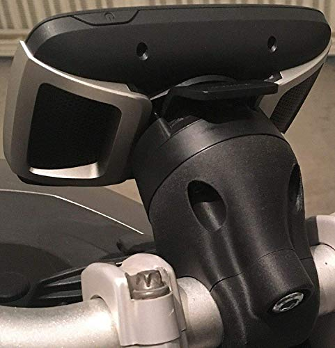 Soporte de TomTom Rider 410/450/550 para manillares de 20-22 mm/28-32 mm 20-22 mm Negro