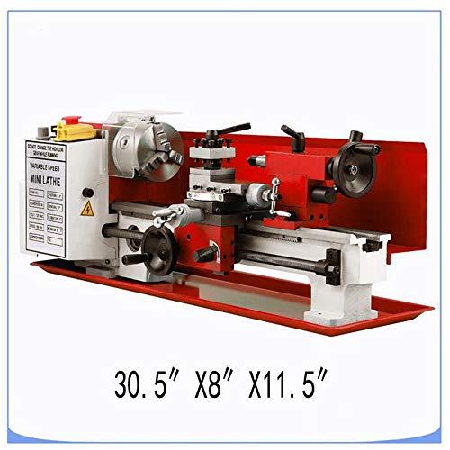 MEIJIQI Mini Mini Torno CNC Torno Metal Machine Engranajes