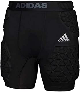Men's Football Alphaskin Force 5 Padded Girdle Shorts Black 492BA