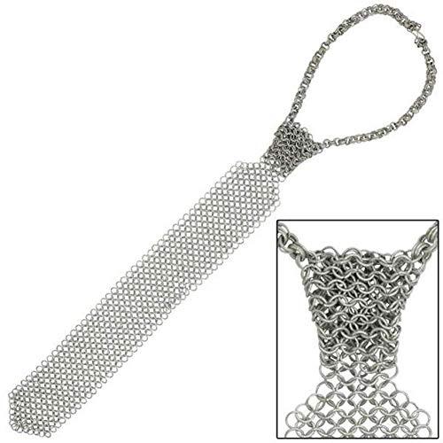 NASIR ALI NEU Mittelalter Rüstung Rüstung Chainmail Shirt Krawatte