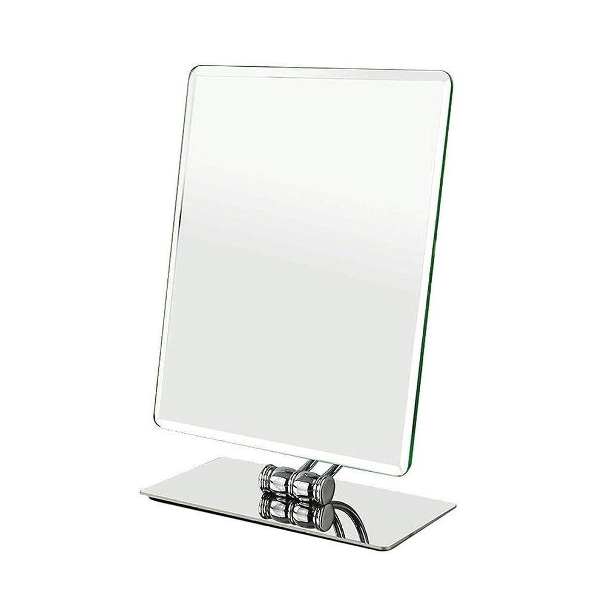 酸度接続詞果てしない化粧鏡 スクエアミラークリエイティブヨーロッパ片面デスクトップミラーHDデスクトップミラーカウンターミラー