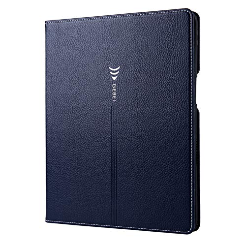 Jacquelyn Premium Leather Smart Folio Case for iPad Pro 11 inch 2020/2018, Slim Protective Cover with Pocket, Wallet Case for iPad Pro 11 2nd Gen 2020/1st Gen 2018 (Color : Blue)