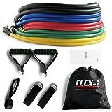FLEX-i® Resistance Bands Set – Stackable Resistance Tubes – Exercise Resistance Bands