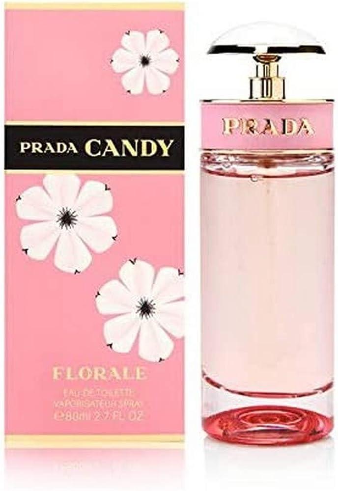 Prada candy floreale, eau de toilette, spray, 80 ml profumo per donna PCF2