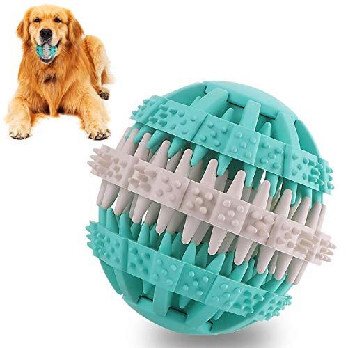 Vunake Hundespielzeug Ball unzerstörbar ungiftig kauspielzeug Intelligenz IQ Training Zahnreinigung für große Hunde Katze kleine mittelgroße Welpen Hunden Naturkautschuk Snack Spielzeug Dog Pet Cat