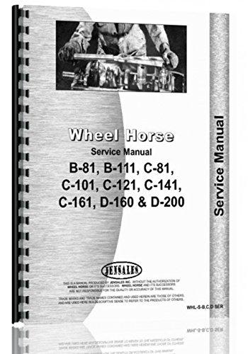 Price comparison product image Wheel Horse B-81 Lawn & Garden Tractor Service Manual