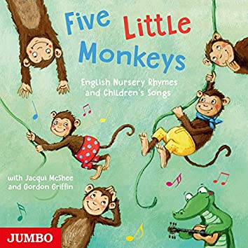 Five Little Monkeys (English Nursery Rhymes and Children's Songs)