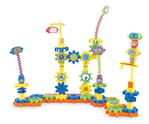 Learning Resources Gears! Gears! Gears! Robot Factory Building Set, 80 Pieces
