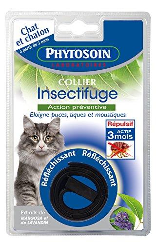 Phytosoin 095007parásitos Collar para Gatos, reflektierent
