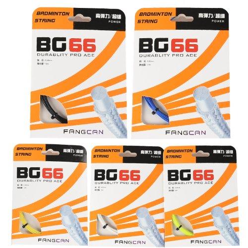 FANGCAN Bg66Badminton Cordes 10m 5Couleurs...