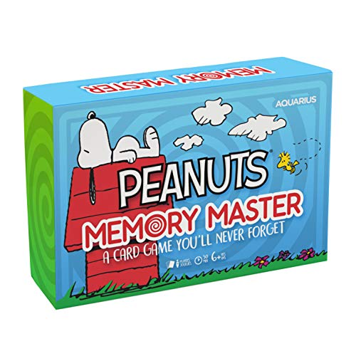 Peanuts Memory Master Kartenspiel