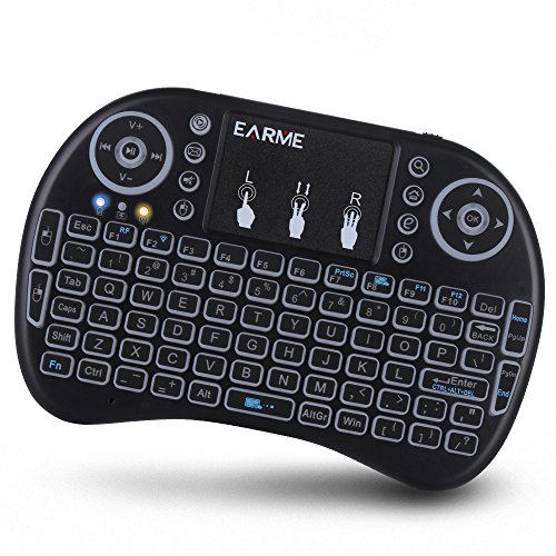 2.4GHz RF Wireless Backlit Keyboard with Touchpad Mouse Smart Phone/PC/Tablet PC/TV Box/Laptop