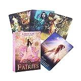 The Oracle of The Fairs Tarot Card Divination Fate Entertainment Tabla Tablero Deck Games Fiesta Familia Regalo Tarjetas Jugadas