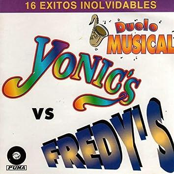16 Exitos Inolvidables De Los Yonic's y Los Fredy's
