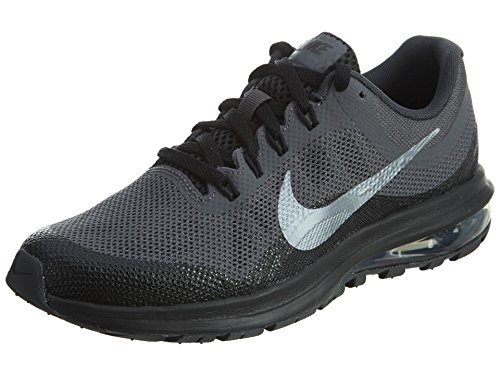 Nike Boy's Air Max Dynasty 2 Running Shoe Anthracite/Metallic Cool Grey-Black 5.5 Big Kid