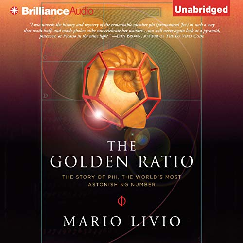 The Golden Ratio  By  cover art