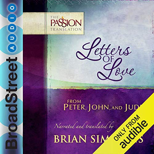 Couverture de Letters of Love from Peter, John, and Jude