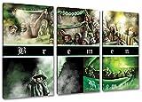 Ultras-Art BremenCollage, 3-Teiler Format: 120x80, Bild