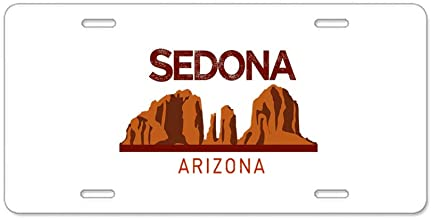CafePress Realm of Sedona Aluminum License Plate, Front License Plate, Vanity Tag