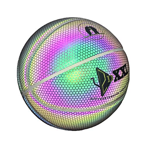 For Sale! COPYLOVE Light Up Basketball, Glowing Basketball, Luminous Basketball Night Game Street PU...