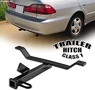 VXMOTOR for 1998-2007 Honda Accord / 1999-2003 Acura TL / 2001-2003 CL Class 1 I Trailer Towing Hitch Mount Receiver Rear Bumper Utility Tow Kit 1.25