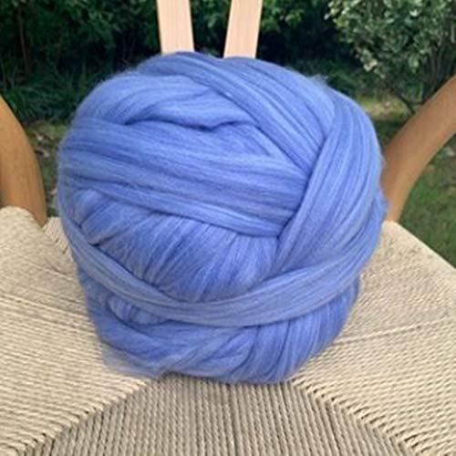 Hilo Gigante 1000 g / bola súper gruesa de lana natural de lana de lana de lana de fieltro de hilo...