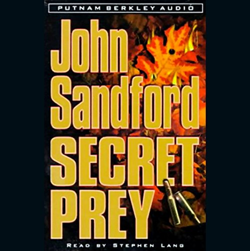 Secret Prey audiobook cover art
