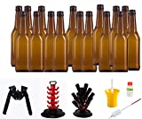 Set Completo de Accesorios para la Fabricación de Cerveza Artesana (Chapadora Negra, Árbol Secador y Kit Higienizante)