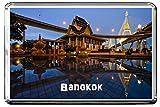 GIFTSCITY C002 BANGKOK FRIDGE MAGNET THAILAND TRAVEL REFRIGERATOR MAGNET