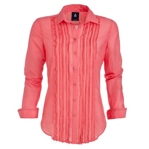 Gaastra Hemd Rot Klar pontchateau für Damen Gr. X-Large, rot