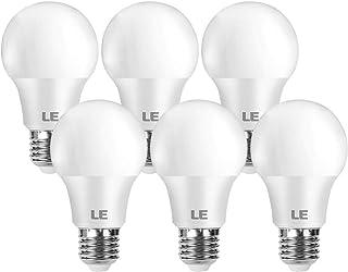 LE E27 LED Birne, 8.5 Watt 806 Lumen LED Lampe E27, ersetzt 60W Glühbirne A60 Leuchtmittel E27, 2700 Kelvin Warmweiß LED B...