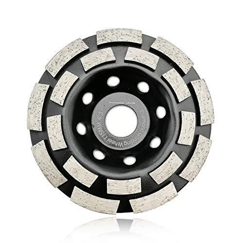 3 Piece 4 1//2 Inch 115mm Diamond Grinding Cup Wheel concrete travertine stone