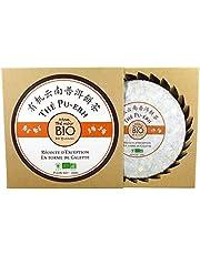 ✅ *** BIO *** Pastel de té negro 200 g Orgánico de Yunnan - Tradición Japonesa - Certificado AB por Ecocert - PUERH BIO 200G