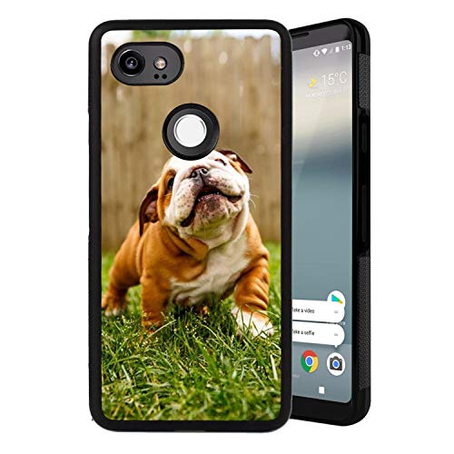 Google Pixel 2 XL Case, PC and TPU Case for Google Pixel 2 XL [6-Inch] Protective Case French Bulldog