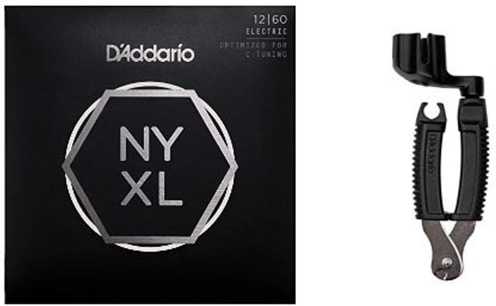 D'Addario A surprise price Virginia Beach Mall is realized NYXL1260 Electric Guitar Strings 12-60 Heavy a Extra