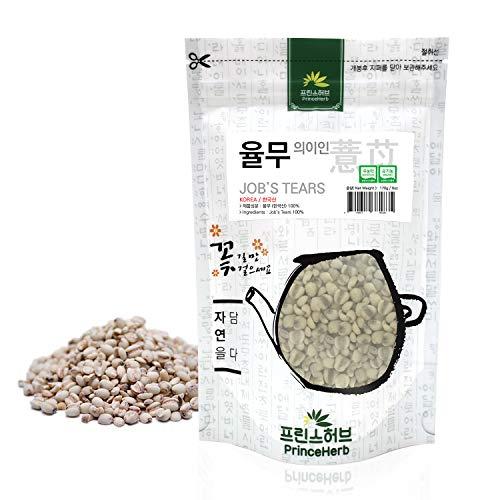 [ Medicinal Korean Herb ] Job's Tears (Adlay/Coix/Yiren/율무) Dried Bulk Herbs 6oz (170g)