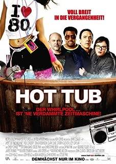Hot Tub Time Machine Movie Poster (27 x 40 Inches - 69cm x 102cm) (2010) German -(John Cusack)(Clark Duke)(Craig Robinson)(Rob Corddry)(Sebastian Stan)(Lyndsy Fonseca)